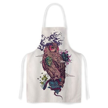 "Mat Miller ""Regrowth"" Natural Owl Artistic Apron"