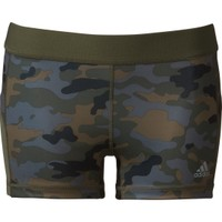adidas Women's techfit 3'' Camo Print Compression Boy Shorts