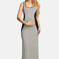 Women's The Urban Ma Scoop Neck Maxi Maternity Dress,