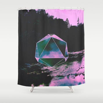 Perpetual Shower Curtain by DuckyB (Brandi)