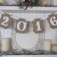 2016 Banner for New Years Eve, Graduates, Photo Prop, Senior Pictures