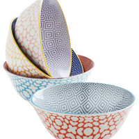 ModCloth Boho Are Euclidean Me? Bowl Set