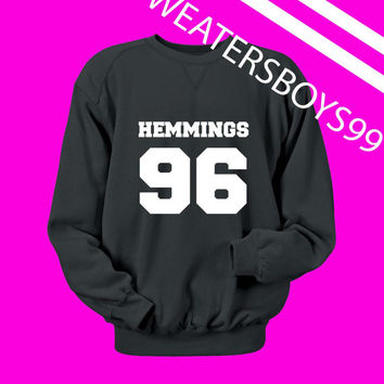 Luke Hemmings 96 sweater Sweatshirt Crewneck Men or Women Unisex Size