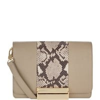 See By Chloé Small Snake Panel Kristen Crossbody Bag | Harrods
