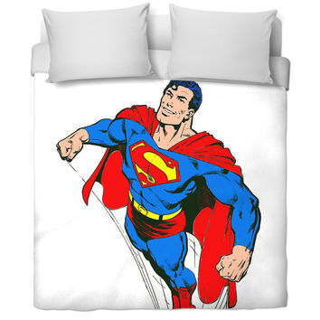 Superman Comic Bed Cover