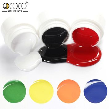 GDCOCO High Margin Pure Color Nail Painting Color Gel Lacquer 5ml 36 Colors UV Color Gel Varnish Lacquer Nail Paint Gel Ink