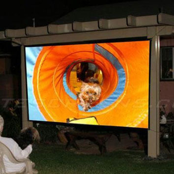 "94"" Diagonal Outdoor Screen"