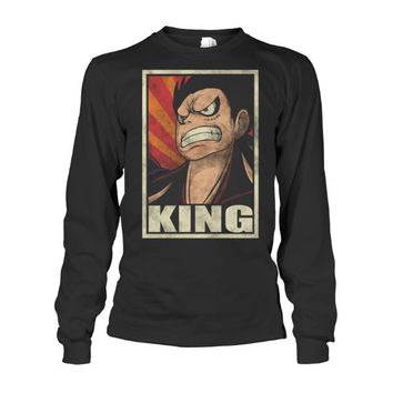 One Piece - Luffy King -Unisex Long Sleeve - SSID2016