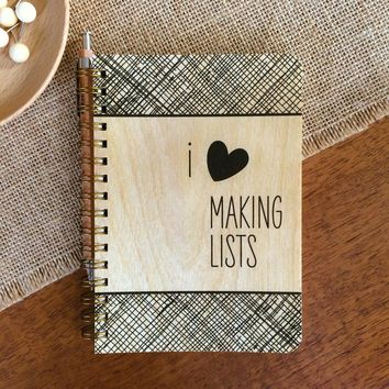 Night Owl Paper Goods - Making Lists • Pocket Notebook