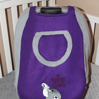 Jack Skellinton Nightmare Before Christmas theme Winter Weight Carrier Cover