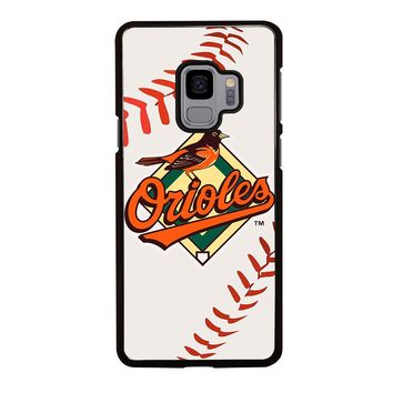 BALTIMORE ORIOLES BASEBALL Samsung Galaxy S4 S5 S6 S7 S8 S9 Edge Plus Note 3 4 5 8 Case Cover
