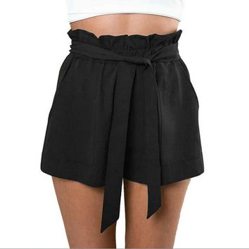 Hollywood High Waist Shorts