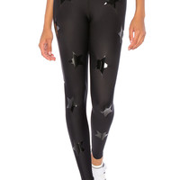 ultracor Ultra Lux Knockout Legging in Nero & Patent Nero