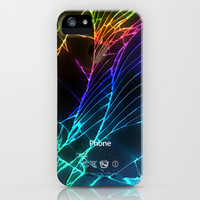 iphone and ipod case Broken, rupture, damaged, cracked out black apple iPhone 3, 4 4s, 5 5s 5c, iPod & samsung galaxy s4 case cover