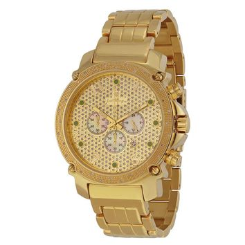 JBW 18kt Gold-plated Stainless Steel Mens Watch JB-009-K