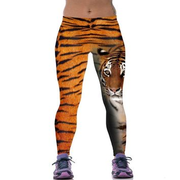 Calm Tiger Print Leggings