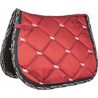 HKM Pro-Team Saddle Pad - Red/White