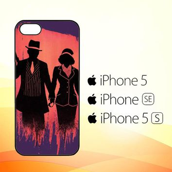 bonnie and clyde Y0516  iPhone 5|5S|SE Case