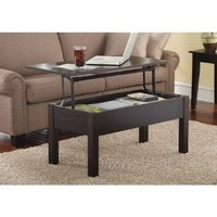 Lift-Top Coffee Table, Espresso