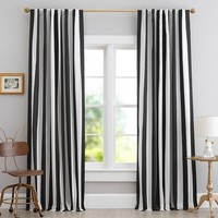 The Emily + Meritt Circus Stripe Blackout Drape