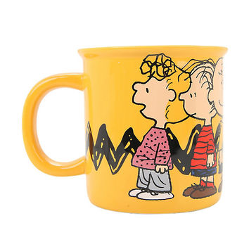 Peanuts Gang Monster Mug
