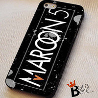 Maroon 5 logo iPhone 4s iphone 5 iphone 5s iphone 6 case, Samsung s3 samsung s4 samsung s5 note 3 note 4 case, iPod 4 5 Case