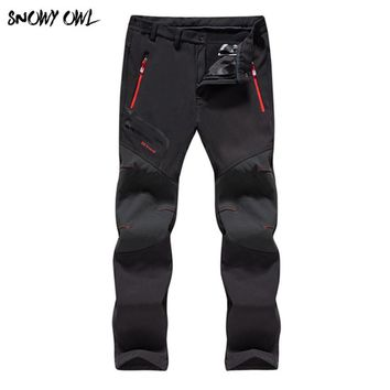 Professional Winter Ski Pants Men And Women Warm Waterproof Snow Skiing Snowboard Pants Outdoor Trousers Brand 65