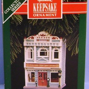 1992 Five and Ten Cent Store Hallmark Retired Ornament