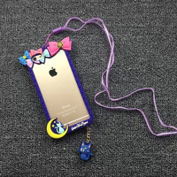 Hot Selling Cute Cartoon Sailor Moon bumper Case for iPhone 6 6S/6 6S Plus Cover Coque Capa Free Shipping=CA301