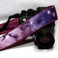 Cosmos Camera Strap. DSLR Camera Strap. Galaxy Camera Strap. Camera Accessories