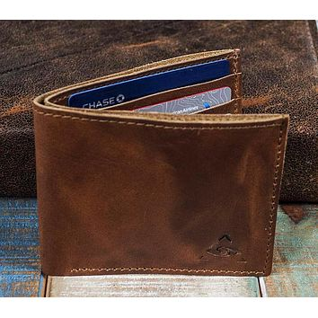 7-Slot Bifold Wallet - The Classic (Horween Cavalier Leather)