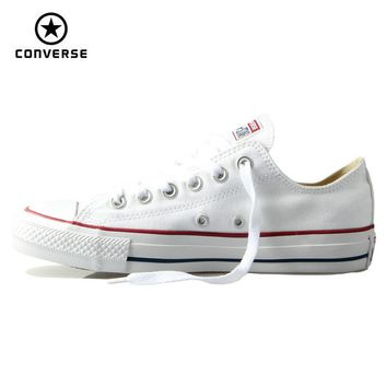 Original Converse classic all star canvas shoes men and women sneakers low classic Ska