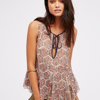Free People Touch The Sky Printed Tank