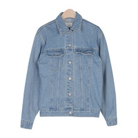 Basic Blue Denim Jacket