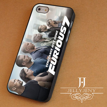 Fast & furious 7 cover 7 iPhone 4 Case 5 Case 5c Case 6 Plus Case, Samsung Galaxy S3 S4 S5 Note 3 4 Case, iPod 4 5 Case, HtC One M7 M8 and Nexus Case