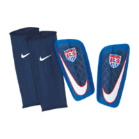 Nike U.S. Mercurial Lite Soccer Shin Guards (One Pair)
