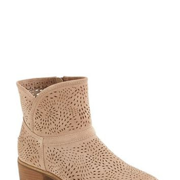 Women's UGG Australia 'Darling Seaweed' Perforated Suede Boot,