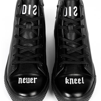 Never Kneel Sneakers