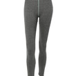 Womens Fitted High Rise Workout Tights Ankle Length Yoga Pants