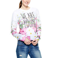 We Are Young Sweatshirt - Multi