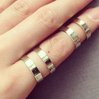 Double thick wire ring