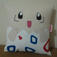 Handmade Pokemon Togepi Party Favor Gift Pillow Cushion