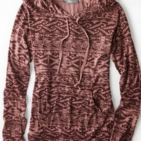 AEO Women's Don't Ask Why Lightweight Hoodie (Multi)