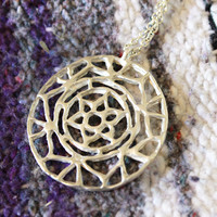 Spirit of Life Mandala Necklace