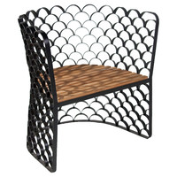 Koi Chair, Teakwood, Accent & Occasional Chairs