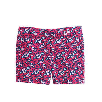Girls Scattered Whale Every Day Shorts