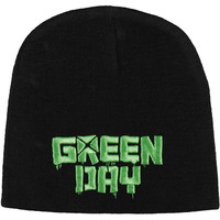 Green Day Men's Logo Beanie Black