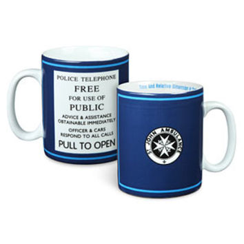 Doctor Who St John Ambulance 20oz Mug