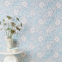 Chasing Paper Sketched Floral Print Wallpaper