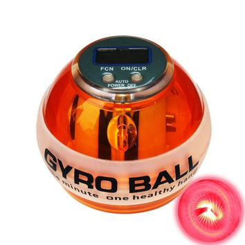 Force Gyroscope Ball Dual Gyroscope Wrist Arm Muscle Force Power Exercise Strengthen Ball Trainer Hand Grips Fitness Equipments